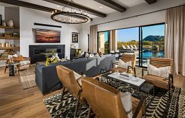 Prelude at Storyrock Plan 7523 Great Room
