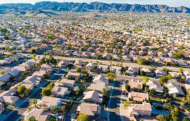 Aerial view of Phoenix Suburbs