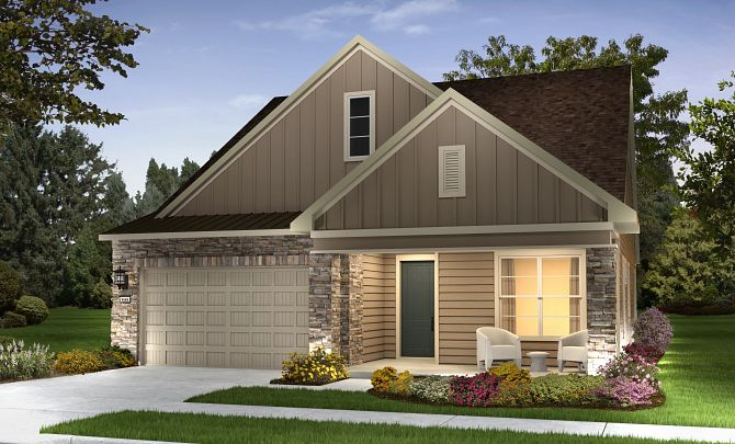 Trilogy at Lake Frederick Quick Move In Aspen Plan Exterior