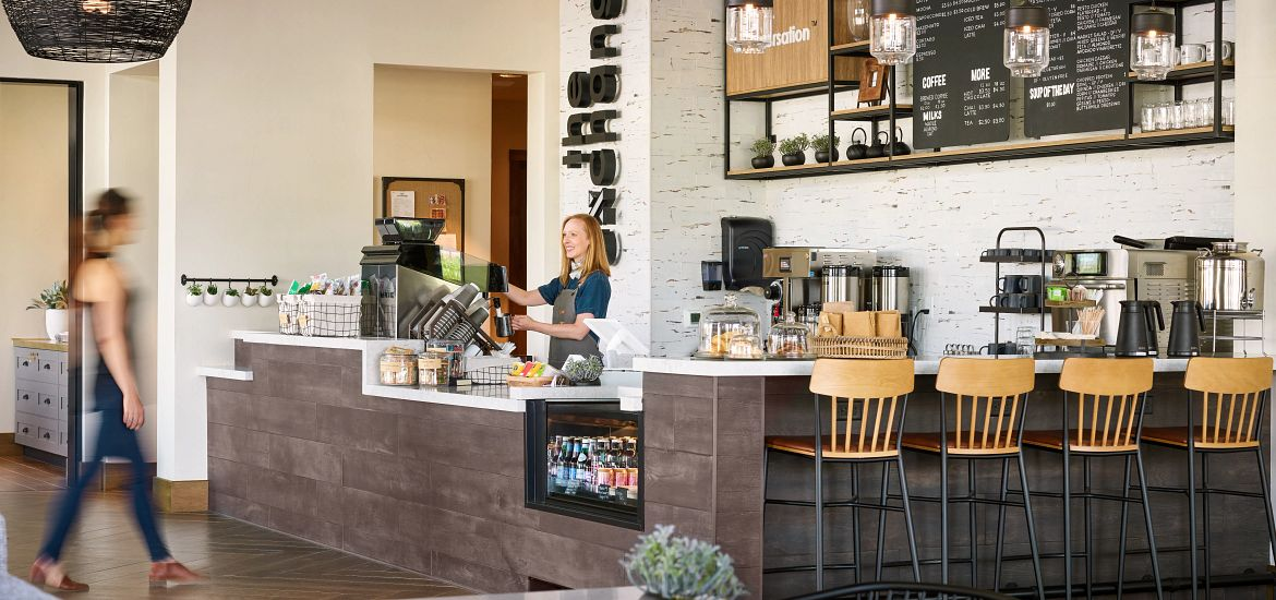 Canyons The Exchange Coffee House Front Counter