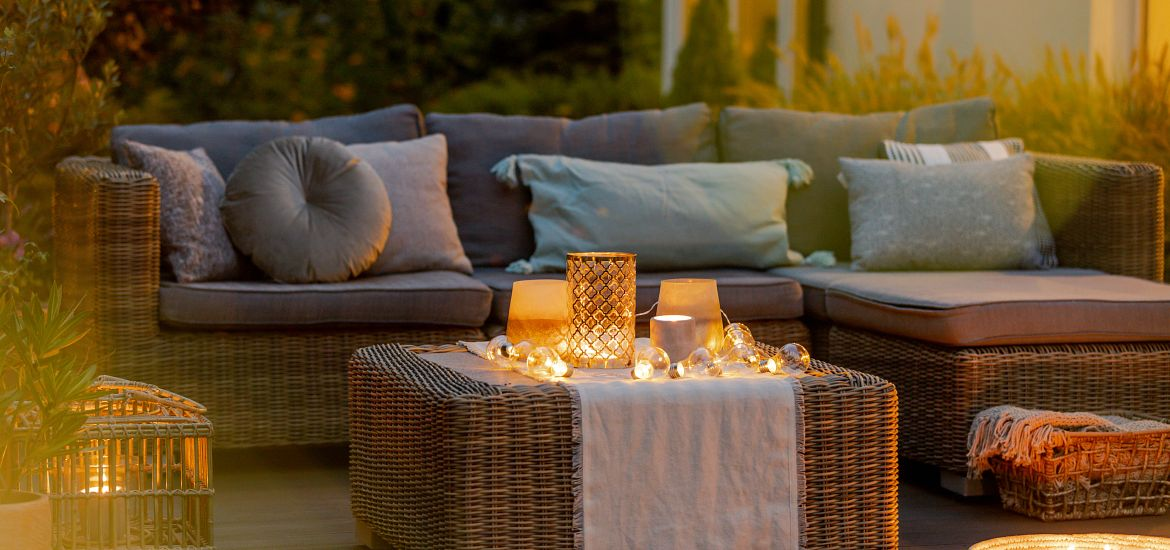 Evening Terrace Outdoor Patio Furniture Getty Images