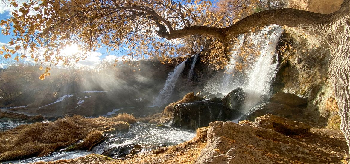 Colorado Rifle Falls State Park Waterfall Getty Images