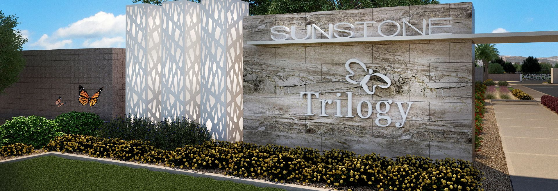 Trilogy Sunstone Front Entry Rendering