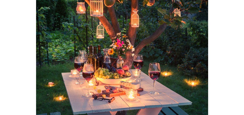 Blog Popping Patios Garden Patio Table Candles