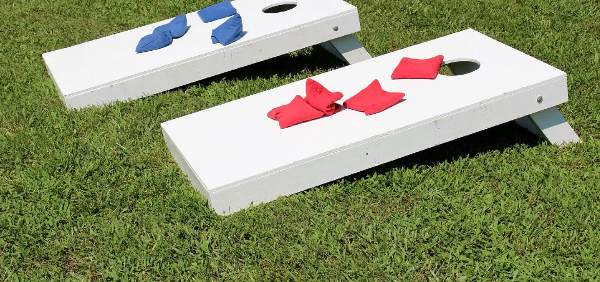 Corn Hole Backyard Game Getty Images
