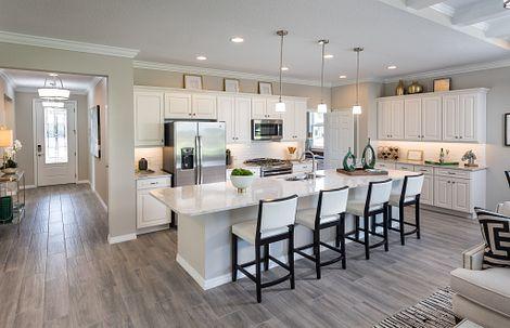 Shea Homes at Ocala Preserve Connect Kitchen
