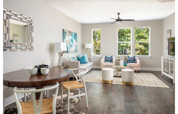 Cambria plan Dining & Living Rooms