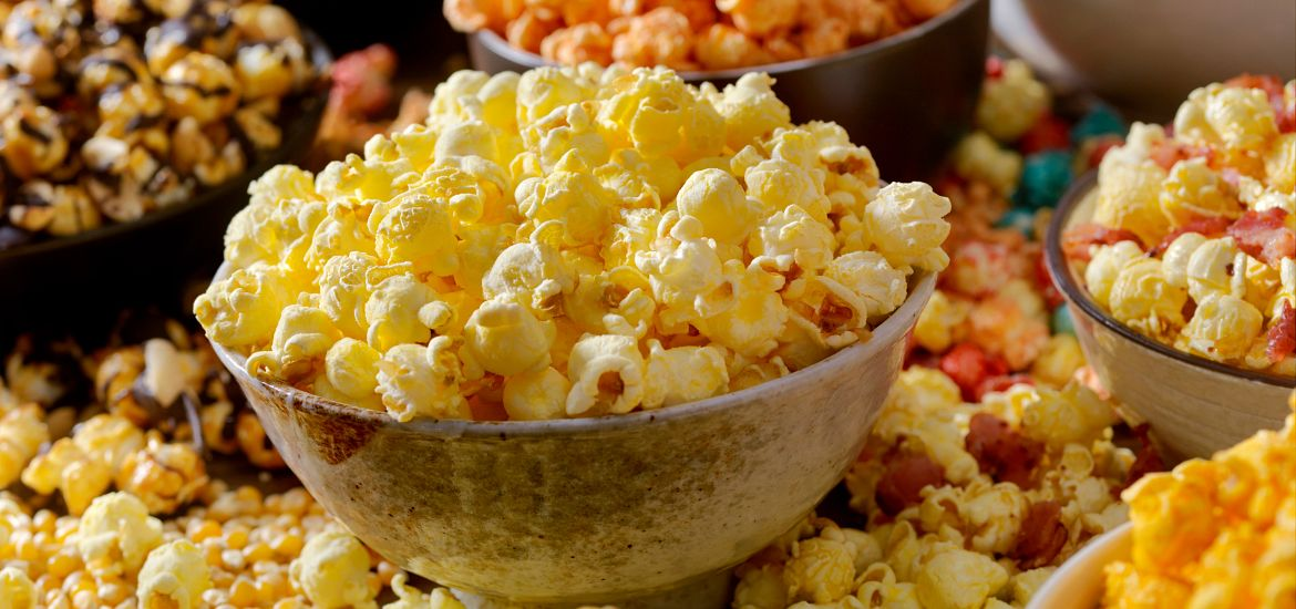 Popcorn Snack Table Getty Images