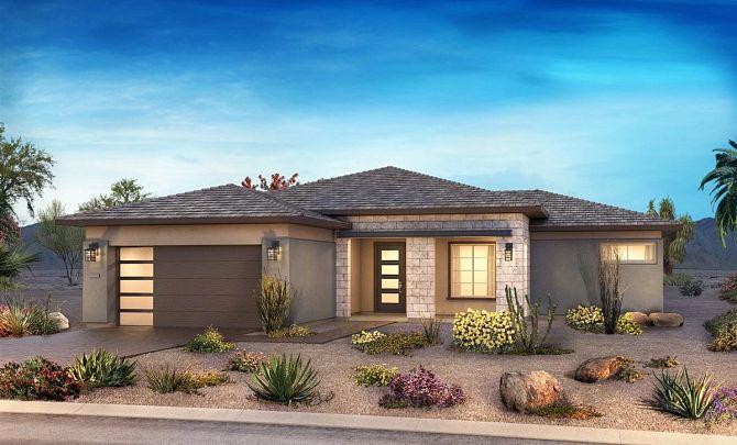 Desert Contemporary Exterior, Color 12