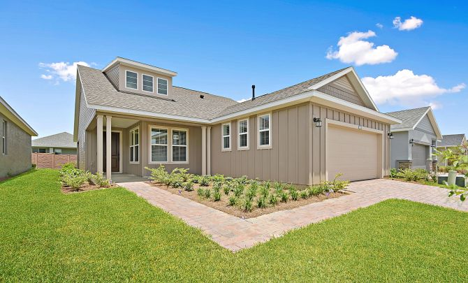 Trilogy at Ocala Preserve Quick Move In Home Monaco Front Exterior