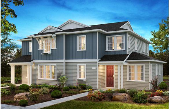 Sea House Plans 1 & 3 Elevation B
