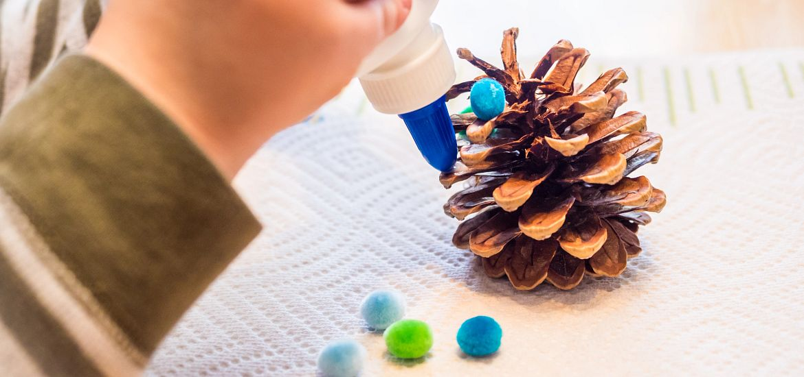 Handmade Pinecone Ornaments Getty Images