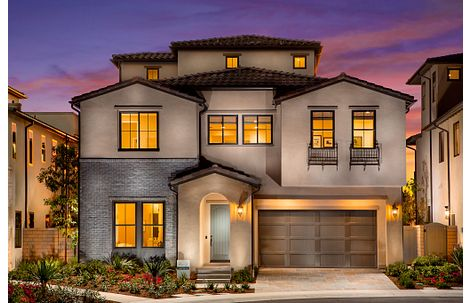 Exterior of the Plan 3X home at Teresina in Orange County