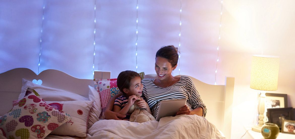 Mom Daughter Bedtime Reading Stories Getty Images