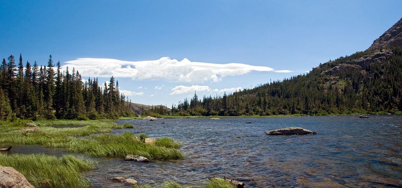 Diamond Lake Colorado Mountains Getty Images
