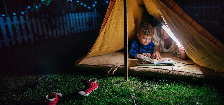 Blog Backyard Camping Pitch Tent