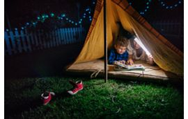 Blog Backyard Camping Pitch a Tent