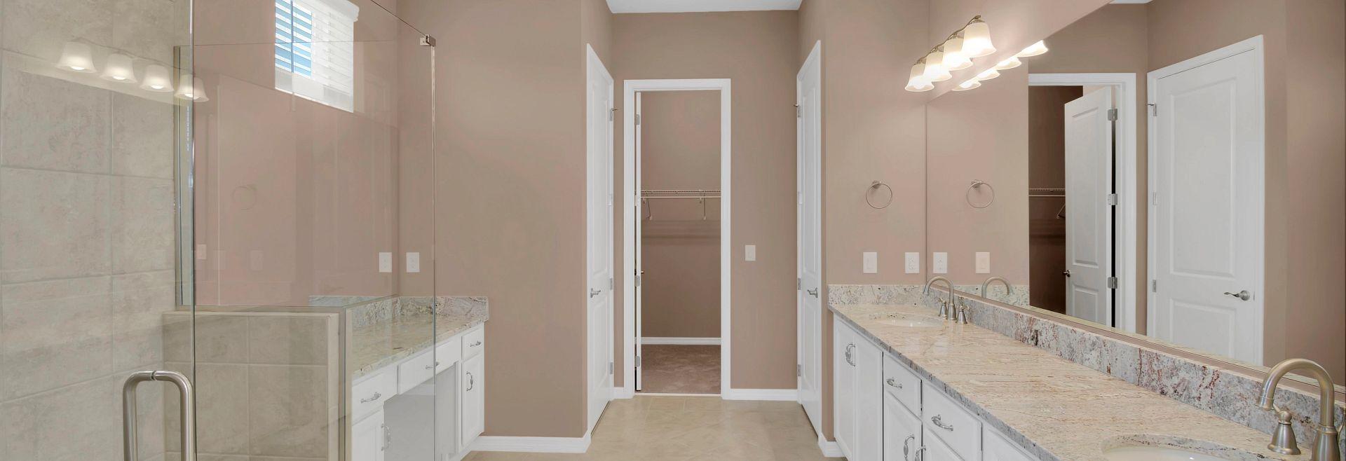 Trilogy at Ocala Preserve Quick Move In Home Imagine Plan Master Bath