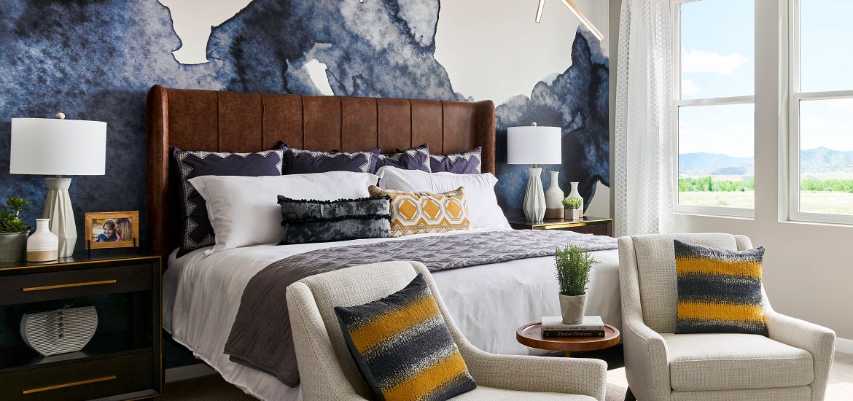 Solstice Stargaze Twilight Model Master Bedroom