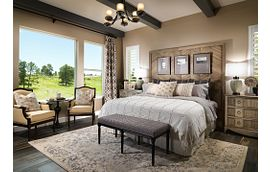 Whispering Pines Woodlands Timber Ridge Master Bedroom