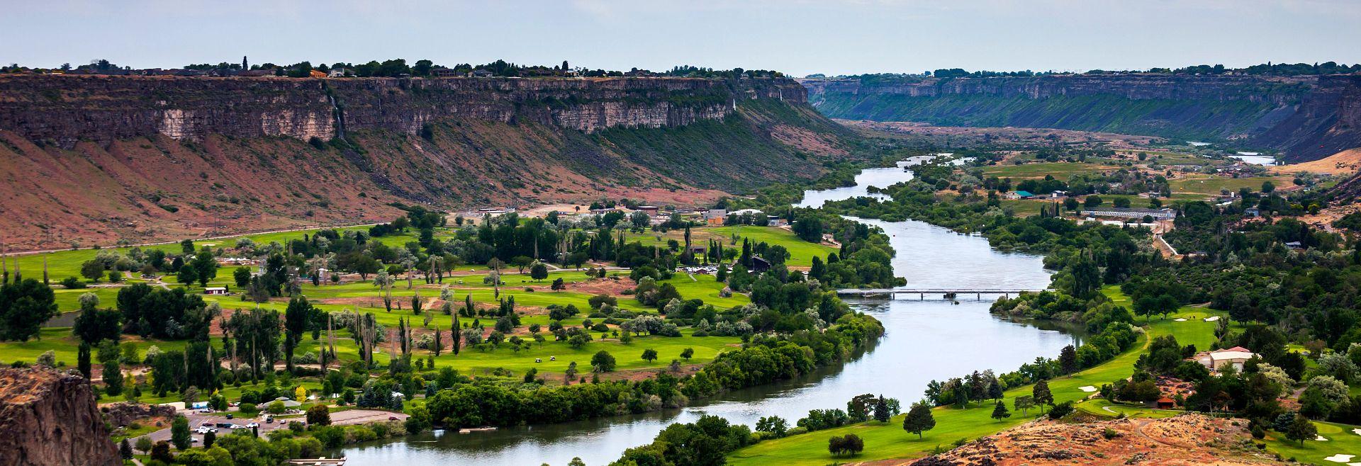 Skyline of Snake River