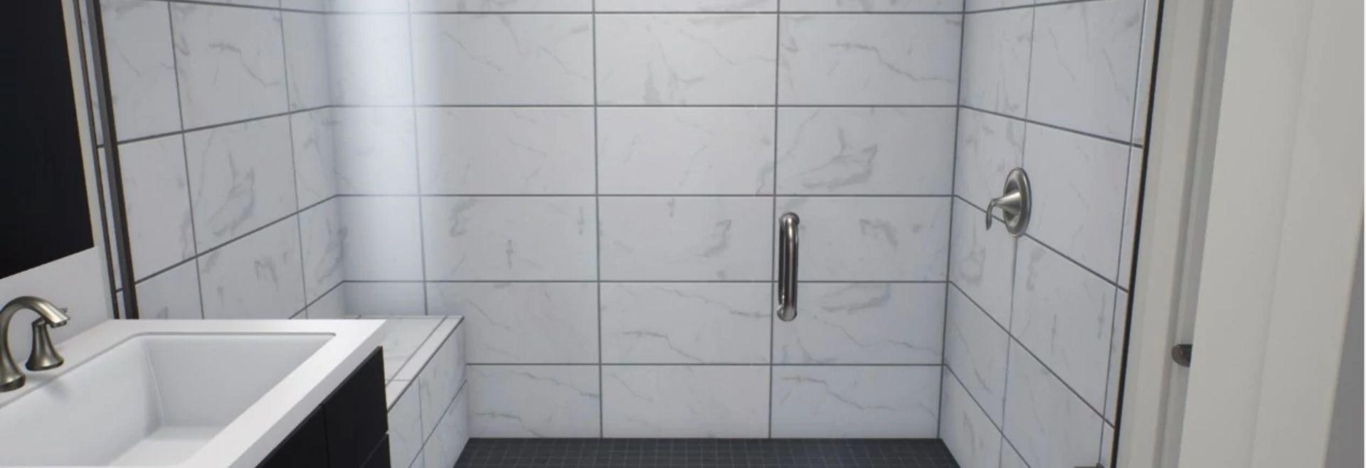 Virtual Owner's Bathroom