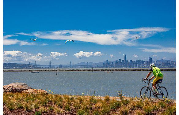 Biker in San Francisco