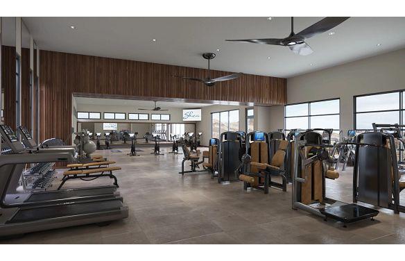 Trilogy Sunstone Afturburn Fitness & Movement Studio Rendering