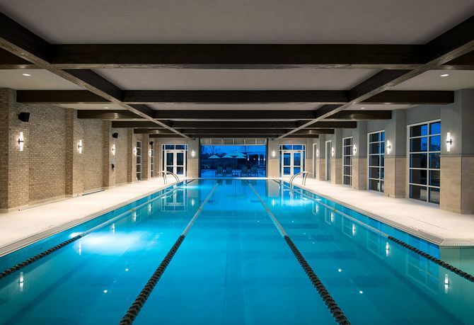 Covered Exercise Pool
