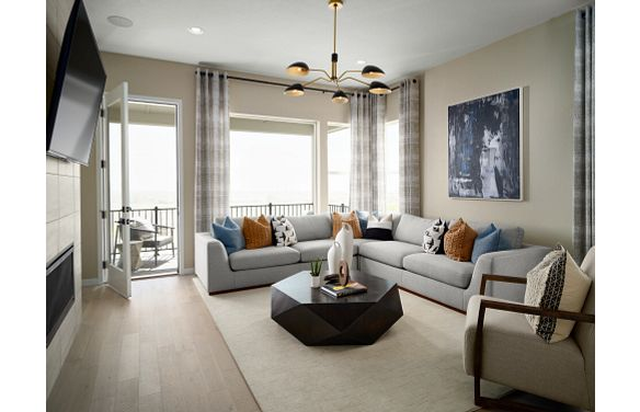 Stepping Stone Crescendo Plan 2205 Great Room