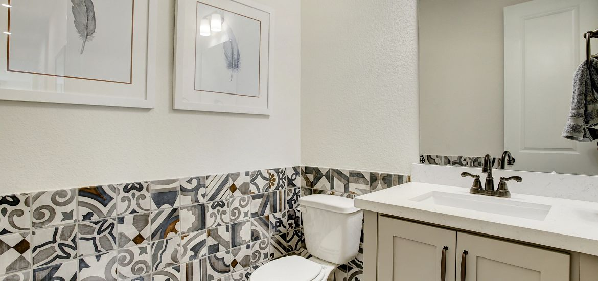 Cane Island Plan 6020 Powder Room