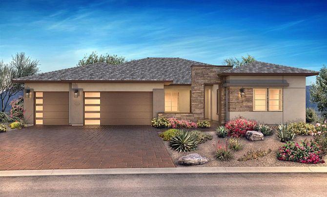 Desert Contemporary Exterior, Color 10