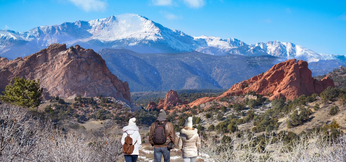 Family Trails Garden of the Gods Colorado Getty Images