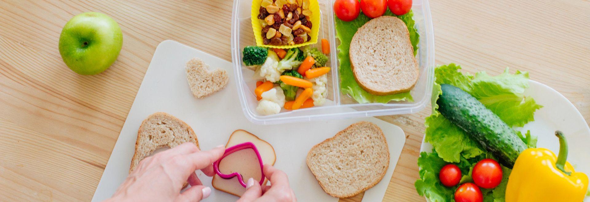 Preparing Sandwich Lunch Box Getty Images