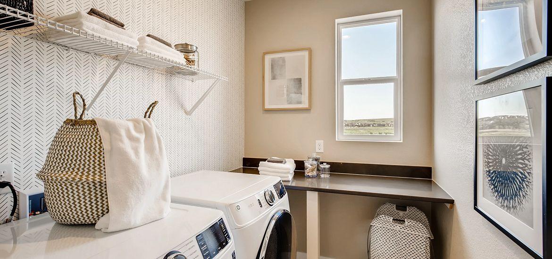 Crescendo Stepping Stone Plan 2205 Laundry Room