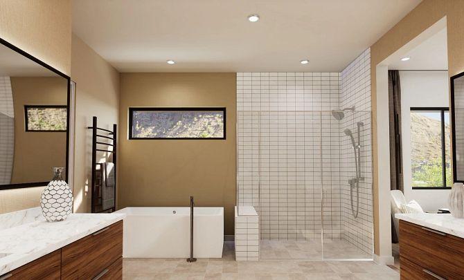Residence 5 Spa-Like Bathroom