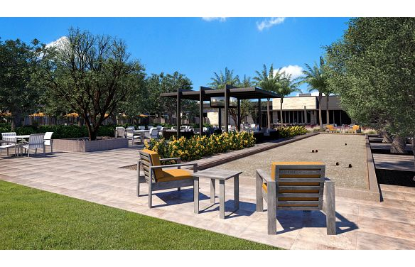 Trilogy Sunstone Bocce Ball Courts Rendering