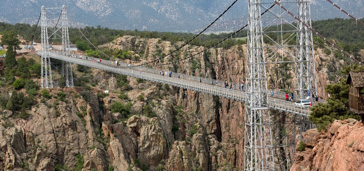 Royal Gorge Bridge Colorado Getty Images