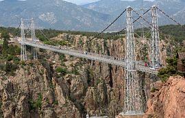 Royal Gorge Bridge Colorado Getty Images