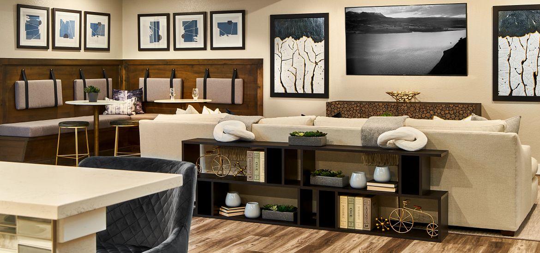 Solstice Reflection Stillwater Basement Game + Media Room