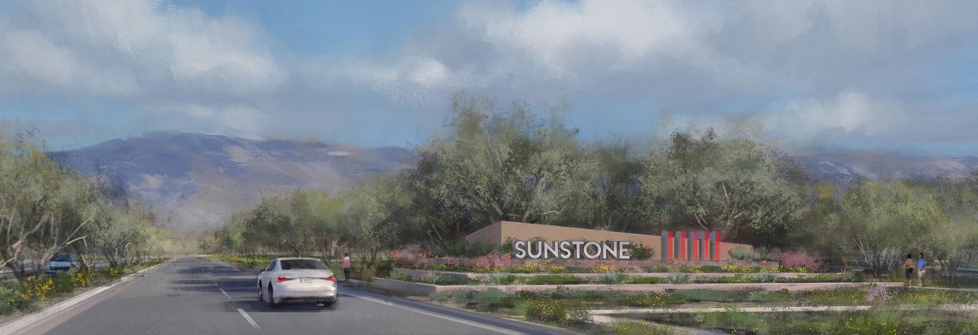 Trilogy Sunstone Masterplan Entrance