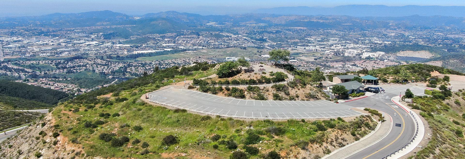 Double Peak Park in San Marcos, CA
