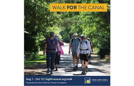 High Line Canal Conservancy Walking Fundraiser