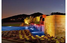 Azure Community Monument Fountain