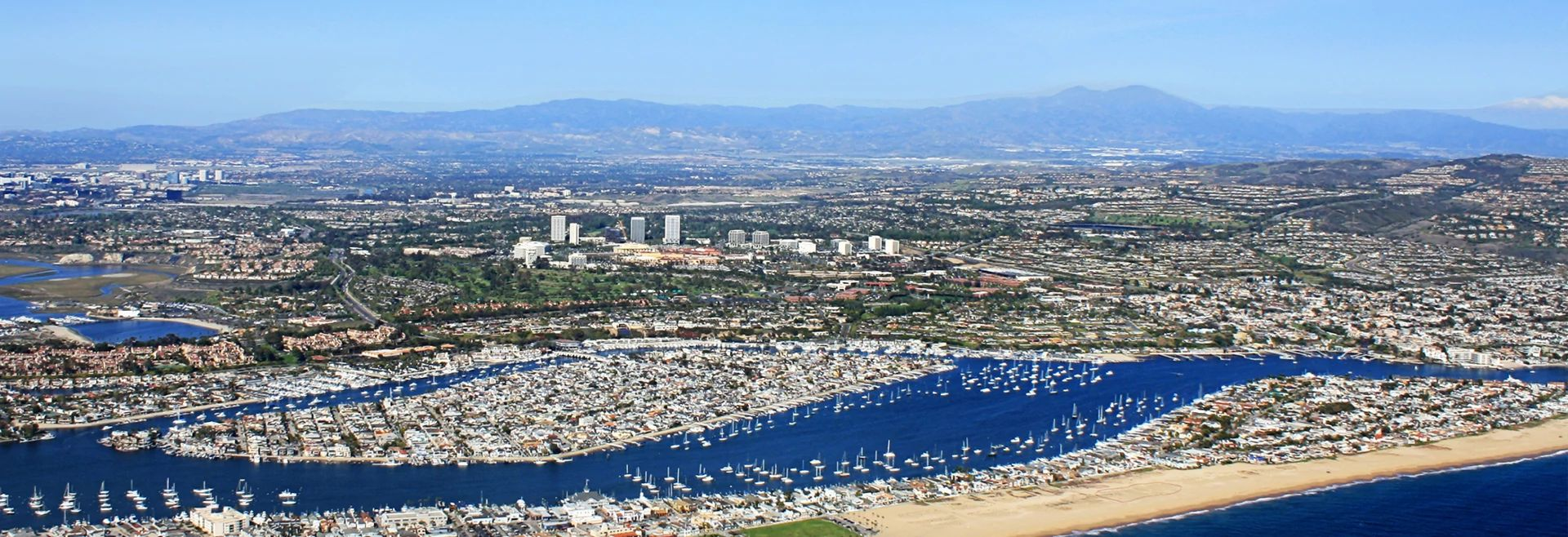Overview of Newport Beach, CA