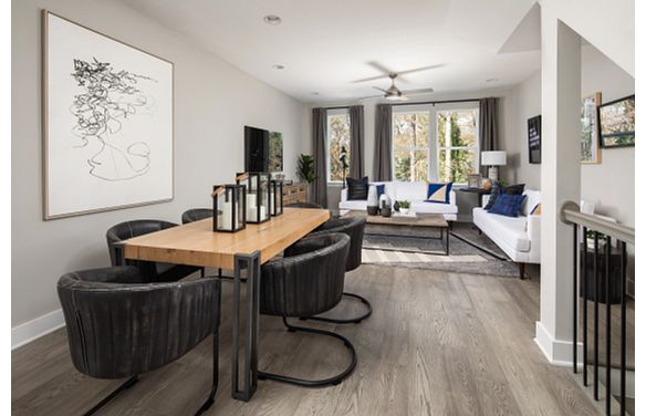 Cambria plan Dining & Living