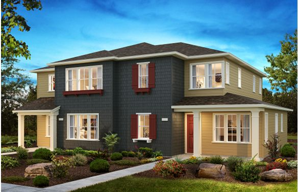 Sea House Plans 1 & 3 Elevation C