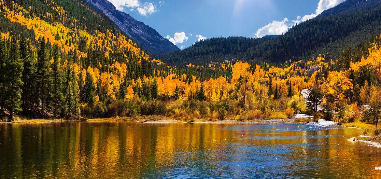 Georgetown Reservoir Autumn Getty Images