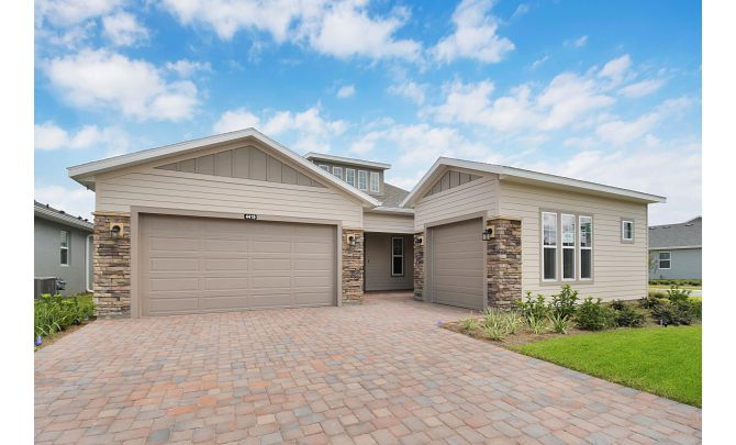 Trilogy at Ocala Preserve Quick Move In Home Imagine Plan Front of Home