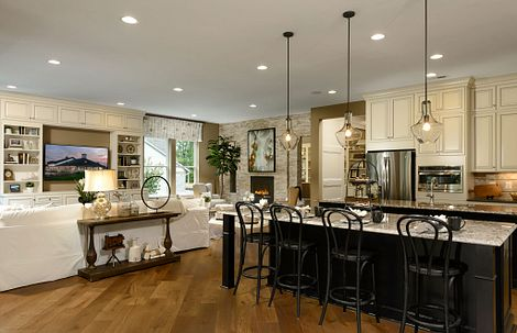 Trilogy at Lake Frederick Model Home the Engage Great Room